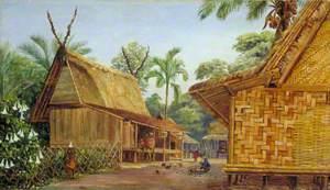 Mat Houses, Bandong, Java
