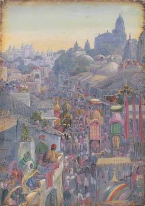 Festival of Muharram, Udiapur, Rajasthan, India