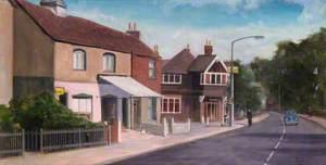 Village Shop and Harvest Home, Beddington, Surrey