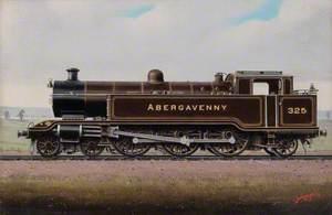 Locomotive No. 325, 'Abergavenny'