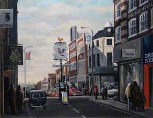 The Cock Crossroads, Sutton High Street, Surrey