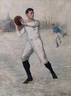 England versus Scotland, 1892 (F. H. R. Alderson, 1867–1925)