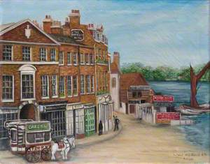 Putney High Street, London, 1876