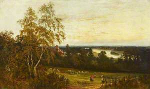 Landscape View of the River at Richmond