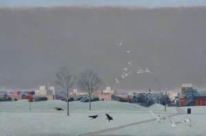 Brunel University, November Frost