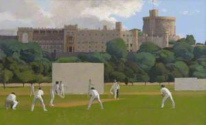 Windsor Castle and Cricket in Home Park