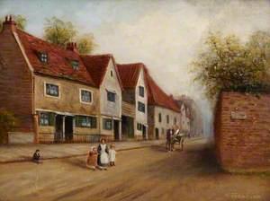 Half Acre, Brentford, before Tramway