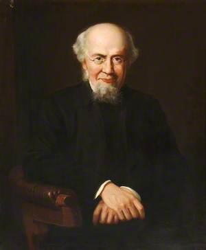 Reverend W. Relton (1816–1893), Vicar of St Mary's Church, Ealing (1853–1886)