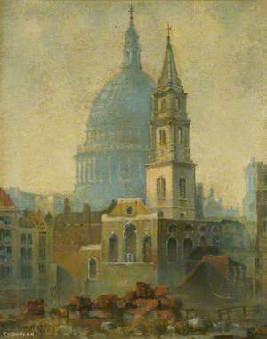 St Vedast and St Paul's
