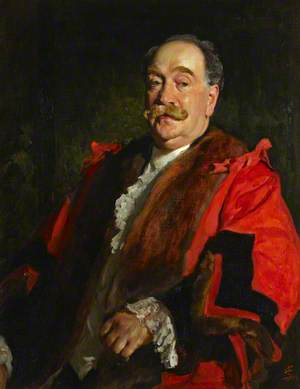 Councillor Joseph Morris Levy, Mayor of Hammersmith (1904–1905)