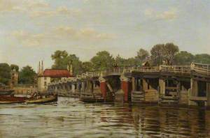 Old Fulham Bridge (?)