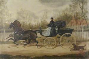 W. Marshall, Innkeeper of the 'Railway Arms' in Vine Street, Uxbridge