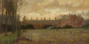 Kensington Palace Exterior, South Front