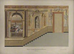 King's Stairs, Kensington Palace, East Wall