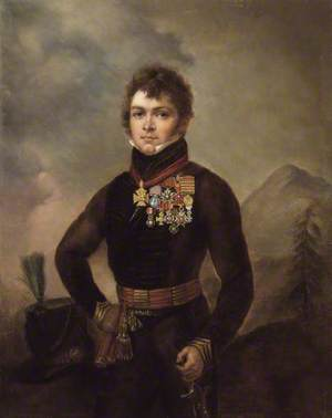 Major (later Lieutenant-Colonel) Sir John Scott Lillie (1790–1868), 7th Cacadores, Portuguese Army
