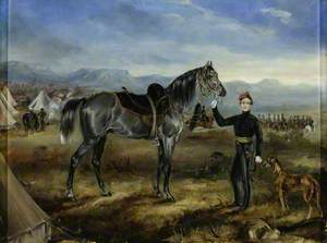 'Charley', the Horse of Captain T. W. Goodrich, Cape Mounted Riflemen