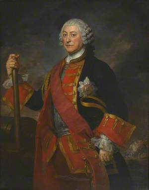 General Jean (or John) Louis (later Field Marshal, 1st Earl) Ligonier (1680–1770), in the Uniform of Colonel of the Royal Regiment of Horse Guards