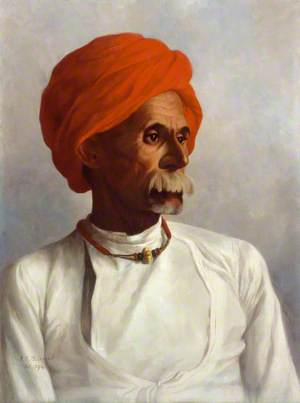 Gunga, a Hindu from Oudh and a Chaprasi (messenger) of No. 22 Astronomical Survey Party (of which Captain Sidney Burrard was in charge)