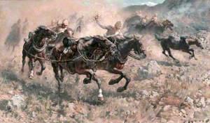 Saving the Guns at Maiwand, Royal Horse Artillery, 27 July 1880