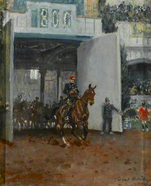 The Start of the Royal Tournament at Olympia