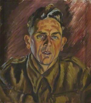 Sergeant Ernest ('Ernie') Little, 5 Buffs, as a Prisoner-of-War in Germany or Poland