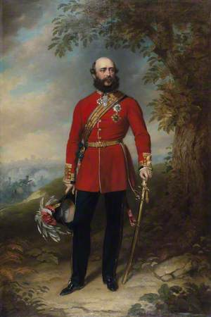 Field Marshal HRH George William Frederick Charles (1819–1904), 2nd Duke of Cambridge, Commander-in-Chief of the Army