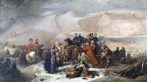 The Capitulation of Kars, Crimean War, 28 November 1855