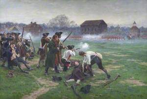 Battle of Lexington, 19 April 1775