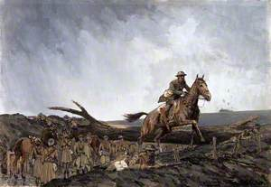 The Second Ride of Lance Dafadar (later Jemadar) Gobind Singh (d.1942), VC, 28th Light Cavalry Attached to 2nd Lancers (Gardner's Horse) at Peizieres, 1 December 1917
