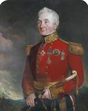 Colonel (later General) Sir James Archibald Hope (1785–1871), in General Officer's Dress Uniform