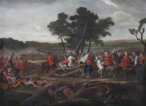 The Battle of Malplaquet, 11 September 1709