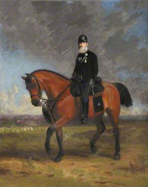 Lieutenant Colonel John Barrow (1808–1898), Paddington Rifles