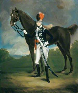 An Officer of the 7th (or The Queen's Own) Regiment of Light Dragoons