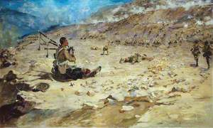 Piper George Findlater (1872–1942), Gordon Highlanders, Winning the Victoria Cross at Dargai, 1897