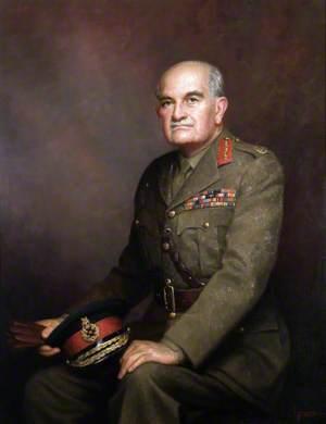 Field Marshal William, Viscount Slim (1891–1970), in Service Dress
