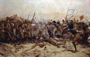 Battle of Abu Klea, 17 January 1885