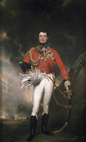 Major-General (later General) Sir James Kempt (1764–1854), GCB, Lieutenant-Governor Fort William and Colonel of the 81st Regiment of Foot