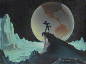 Baron Munchausen Arrives on the Moon