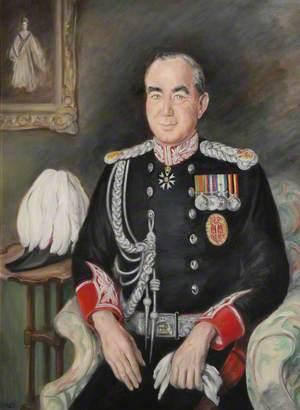 Falklands Portraits: Sir Rex Hunt (b.1926), Governor