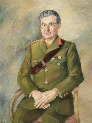 Falklands Portraits: General in Service Dress