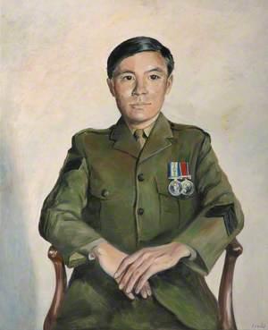 Falklands Portraits: Gurkha Sergeant Sanbahder Linbu