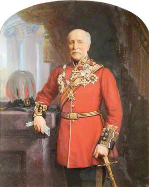 Field Marshal Sir John Lysaght Pennefather (1798–1872), Governor of the Royal Hospital (1870–1872)