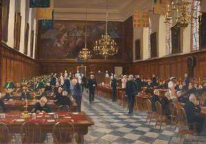 View of the Great Hall, the Royal Hospital Chelsea