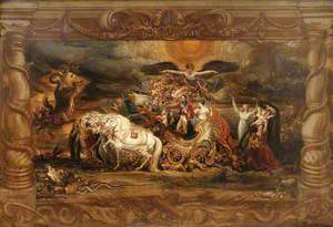 The Triumph of the Duke of Wellington