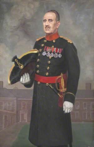 Sergeant Major A. G. Lynch, DCM