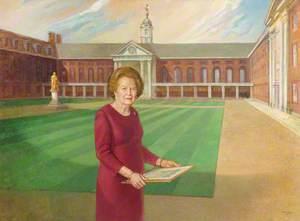 Dame Margaret Thatcher (b.1925)