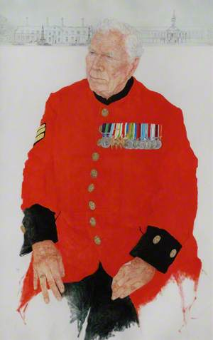 Chelsea Pensioners: In-Pensioner William Cross, Formerly Lance Corporal of Horse Life Guards