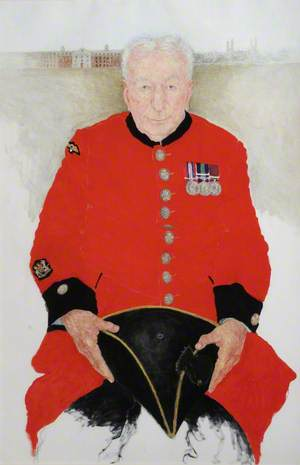 Chelsea Pensioners: In-Pensioner Christopher Melia, Formerly Warrant Officer Class 1, Royal Artillery