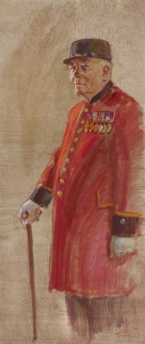 Chelsea Pensioners: Terry Hyatt, Royal Hampshire Regiment