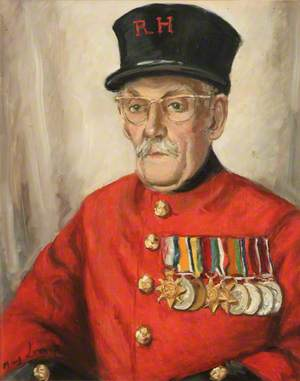 Portrait of a Pensioner, R. H.